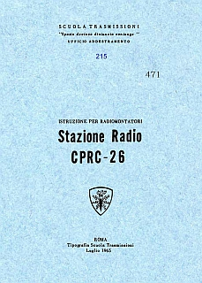 Stazione radio CPRC-26 1965